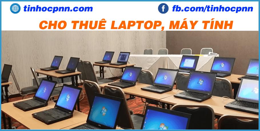 Dịch vụ cho thuê laptop, máy tính
