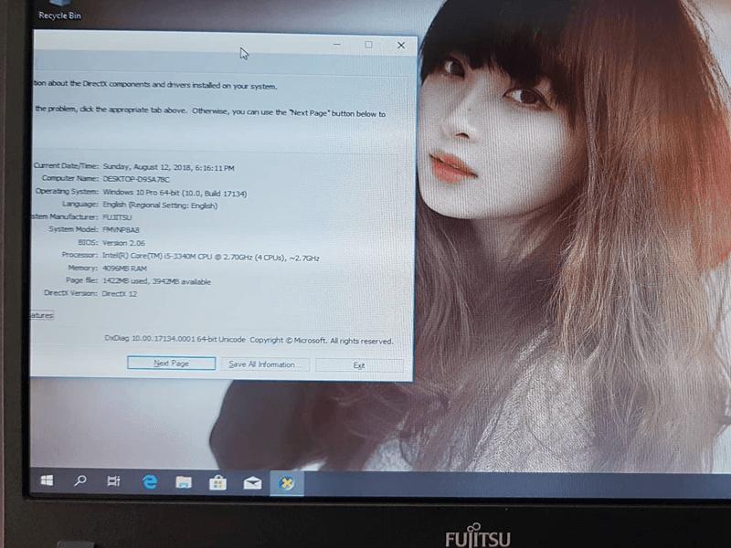 Laptop Fujitsu LIFEBOOK P772 G core i5 SSD 120G 4