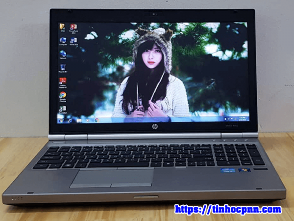 Laptop HP Elitebook 8560p core i5 ssd 120G laptop choi game gia re 4