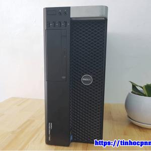 Máy trạm Dell Precision T3600 Xeon E5 Ram 16G SSD120G HDD 2TB may tinh do hoa gia re tphcm 6