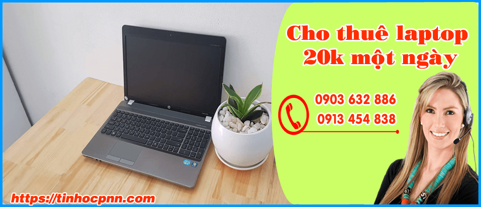 Cho thuê laptop 20k một ngày
