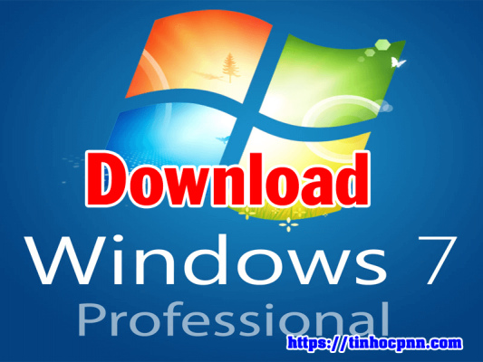 Link download Microsoft Windows 7 Professional SP1 x64