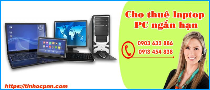 cho thuê laptop máy tính ngắn hạn giá rẻ tphcm