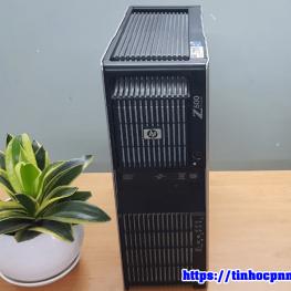 Máy trạm HP Z600 Xeon X5570 x2 Ram 24G Quardo 4000 may tram workstation gia re hcm 3