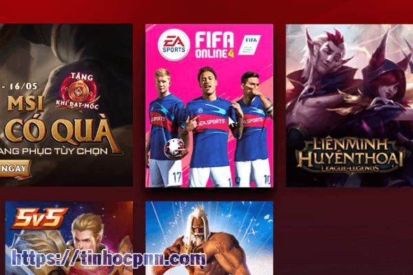 Chọn FIFA 4 để bắt đầu cài đặt