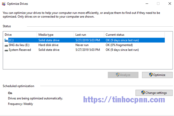 Solid State Drive là ổ SSD, còn Hard Disk Drive là ổ HDD