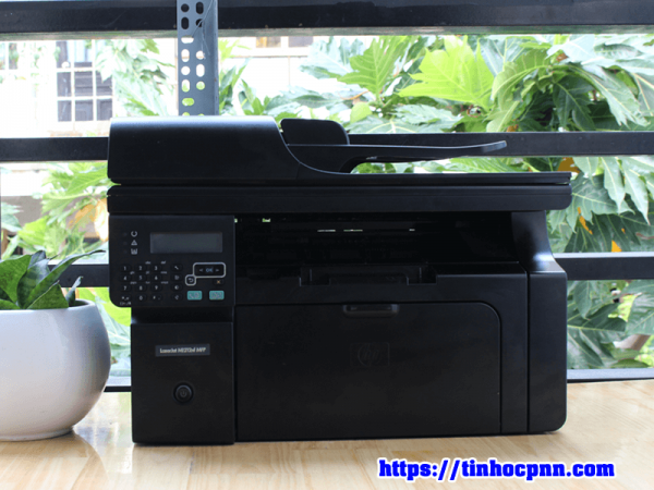 Máy in HP Laserjet M1212nf MFP in scan photo đẹp may in cu gia re tphcm