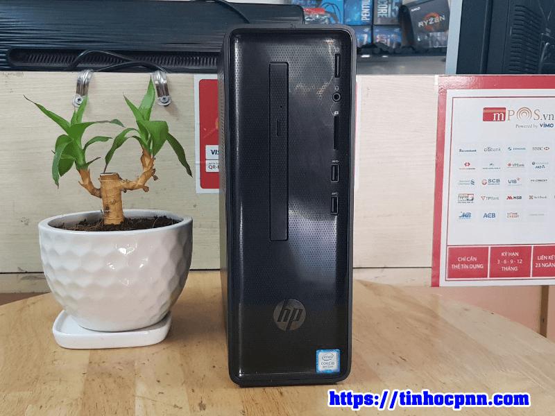 Máy tính HP Slim 290 i5 9400 chơi fifa 4, pubg mo may tinh cu gia re tphcm 1