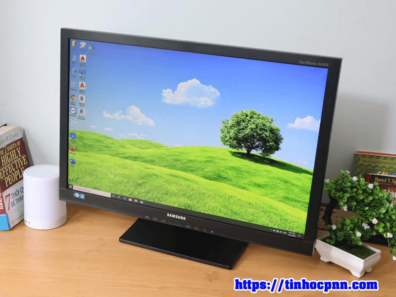 Màn hình Samsung 24 inch full HD S24A450BW man hinh xoay doc gia re tphcm 10