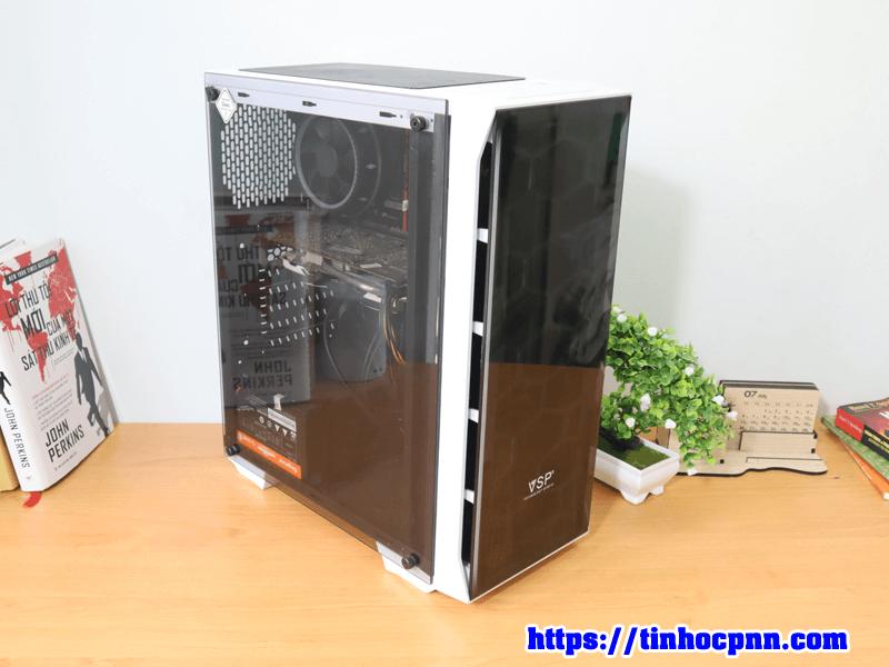Bộ PC chơi game i3 9100 ram 8G card RX 470 may tinh cu gia re hcm 1